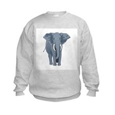 Elephant Front & Back Sweatshirt