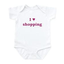 I Heart Shopping Infant Bodysuit