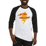 Captain Awesome (Men's Baseball Jersey)