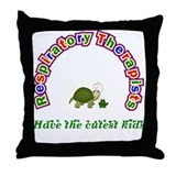 Respiratory Therapist Throw Pillow
