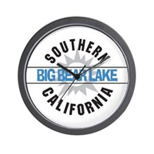 Big Bear Lake California Wall Clock