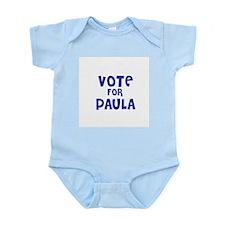 Vote for Paula Infant Creeper