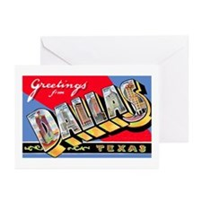 Dallas Texas Greetings Greeting Cards (Pk of 20)