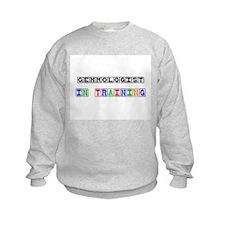 Gemmologist In Training Kids Sweatshirt