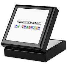 Gemmologist In Training Keepsake Box