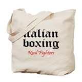 Italian Boxing Tote Bag
