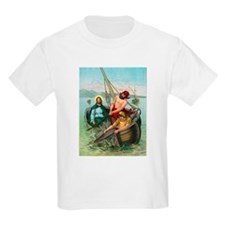 Jesus Fishing T-Shirt