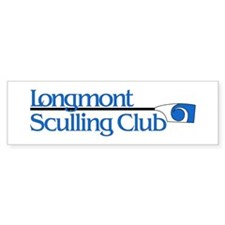 Longmont Sculling Club Bumper Bumper Sticker