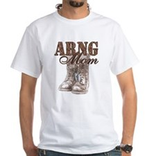 ARNG Mom Combat Boots N Dog Tags Shirt