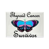 Butterfly Survivor 1 (Thyroid Cancer) Rectangle Ma