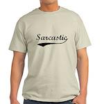 Sarcastic Light T-Shirt
