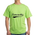 Sarcastic Green T-Shirt