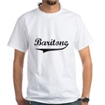 Baritone Swish White T-Shirt