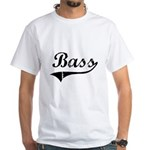Bass Swish White T-Shirt