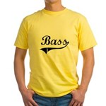 Bass Swish Yellow T-Shirt