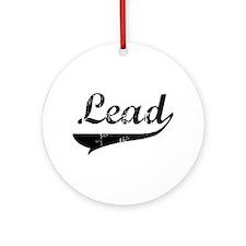 Lead Swish Ornament (Round)