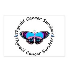 Butterfly Survivor 3 (Thyroid Cancer) Postcards (P