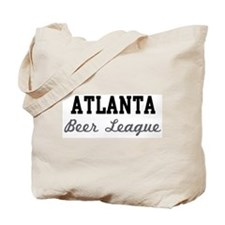 Atlanta Beer League Tote Bag
