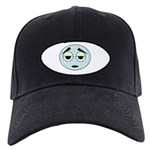funny silly face Black Cap