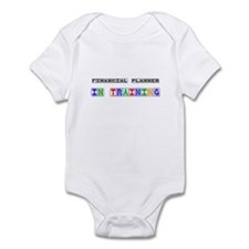Financial Planner In Training Infant Bodysuit