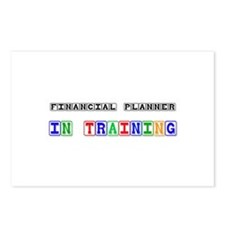 Financial Planner In Training Postcards (Package o