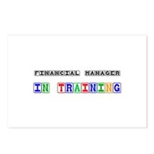 Financial Manager In Training Postcards (Package o