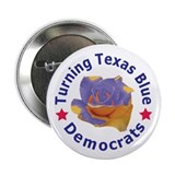 "Turning Texas Blue 2.25"" Button (100 pack)"
