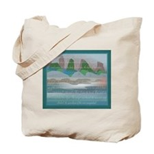 TIKI TOON's hawaiian Goddess Tote Bag w Back Logo