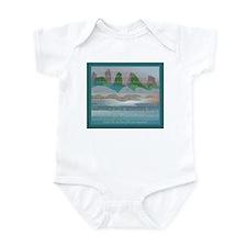 TIKI TOON's hawaiian Goddess Infant Bodysuit