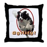 BC Agility 2 Throw Pillow