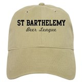 St Barthelemy Beer League Baseball Cap