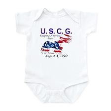 US Coast Guard Keeping Americ Infant Creeper