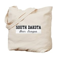 South Dakota Beer League Tote Bag