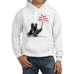 Save the Dust Bunnies! Hooded Sweatshirt