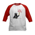 Save the Dust Bunnies! Kids Baseball Jersey