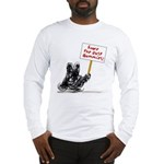 Save the Dust Bunnies! Long Sleeve T-Shirt
