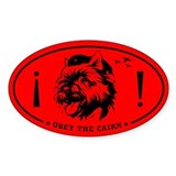 Obey the CAIRN! Revolution Oval Decal