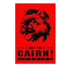 Obey the Cairn Terrier! Postcards (Pack of 8)