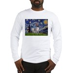 Starry-AmericanHairless T Long Sleeve T-Shirt