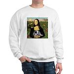 MonaLisa-AussieCattle Pup Sweatshirt