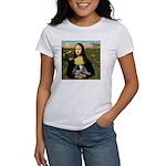 MonaLisa-AussieCattle Pup Women's T-Shirt