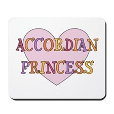 Princess Accordian Mousepad