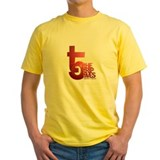 Yellow T5-Shirt