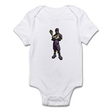 Lacrosse Defenseman Infant Bodysuit