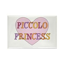 Piccolo Princess Rectangle Magnet