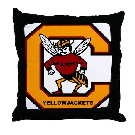 - colton_high_school_yogi_yellow_jacket_throw_pillow