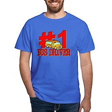 #1 Bus Driver T-Shirt