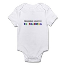 Financial Analyst In Training Infant Bodysuit