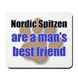 Nordic Spitzen man's best friend Mousepad