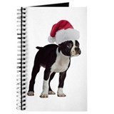 Boston Terrier Christmas Journal